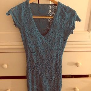 blue nightcap dress